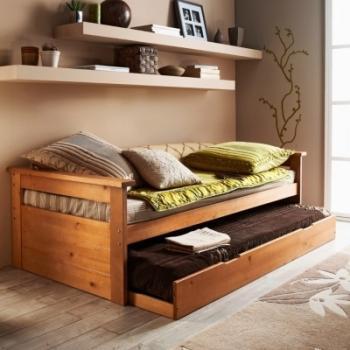 lit gigogne web brut peindre 90 x 190 cm. Black Bedroom Furniture Sets. Home Design Ideas