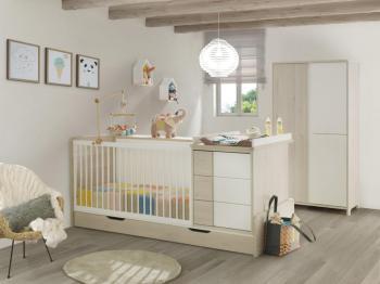 chambre b b empreinte. Black Bedroom Furniture Sets. Home Design Ideas
