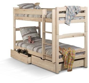 esat lot de 2 tiroirs iris vernis naturel. Black Bedroom Furniture Sets. Home Design Ideas