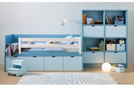 lit rangement davenport 90 x 200 cm. Black Bedroom Furniture Sets. Home Design Ideas