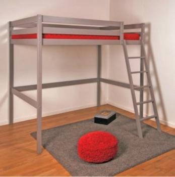 llit mezzanine wolf brut. Black Bedroom Furniture Sets. Home Design Ideas