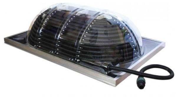 Alphanova cspray solaire 50 sun for Chauffage piscine gratuit