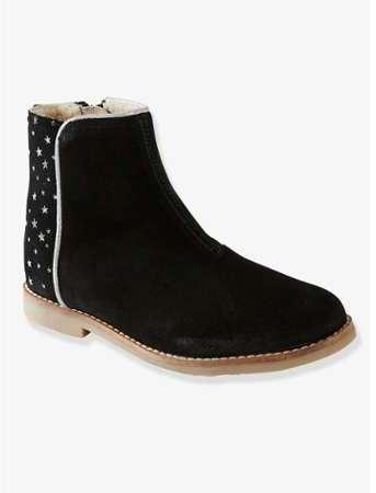 66acd009b848e vertbaudet boots cuir fille