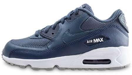 check out 068da a4b1f Air Max 90 Mesh Bleu Foncé