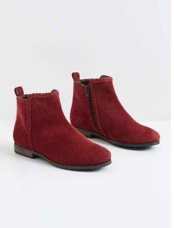 c9b1963c6a28 boots en croute de cuir scratchees