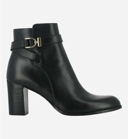Boots en cuir Akilin Noir b398a7d4882e