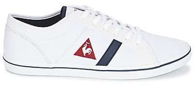 Cernay Leather/Chambray, Baskets Hommes, Bleu (Dress Blue), 44 EULe Coq Sportif