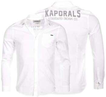 Kaporal homme - Chemise manches longues Blanc Kaporal Beka