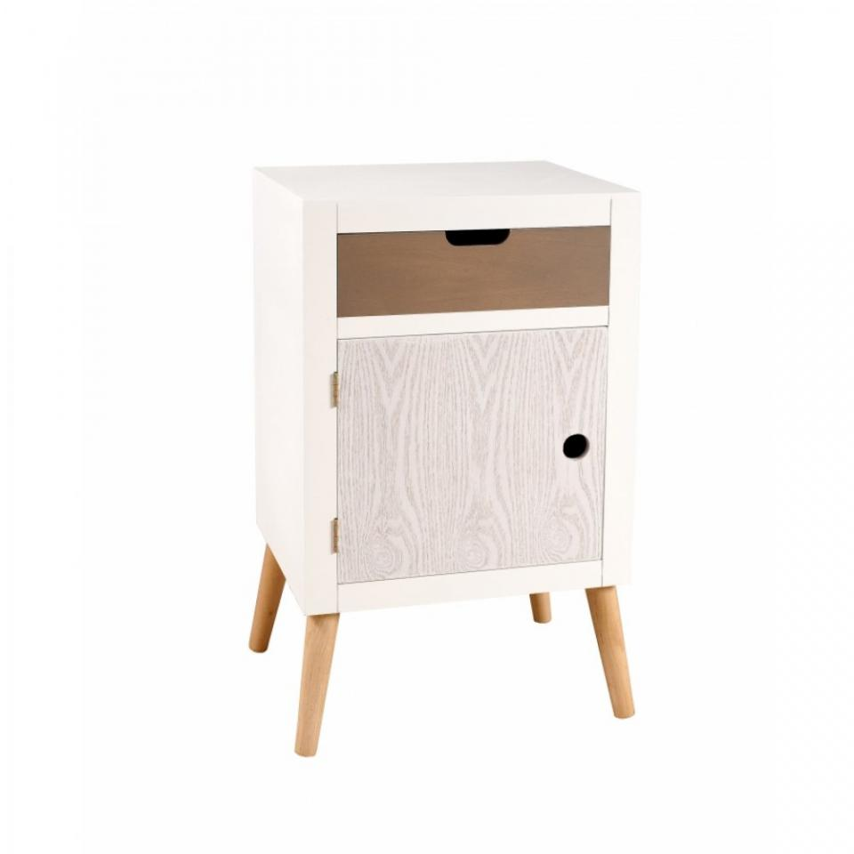 chevet 1 porte doty couleur mauve. Black Bedroom Furniture Sets. Home Design Ideas