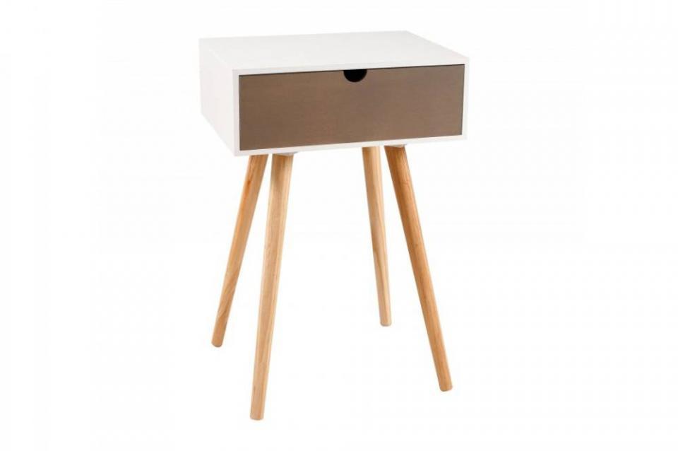 no cbureau avec tiroir scandinave blanc rth. Black Bedroom Furniture Sets. Home Design Ideas