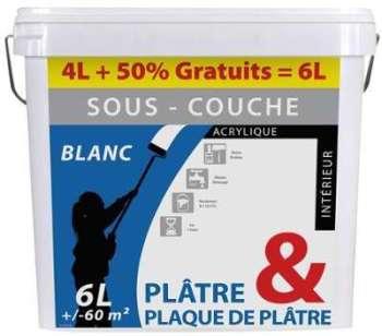 Cat gorie ciment et pl tre du guide et comparateur d 39 achat - Sous couche plaque de platre ...