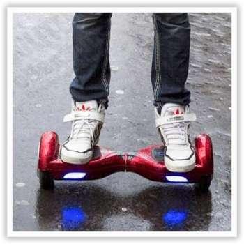 hoverboard skate lectrique 6 5 pouces smartboard gyropode 36v rouge. Black Bedroom Furniture Sets. Home Design Ideas