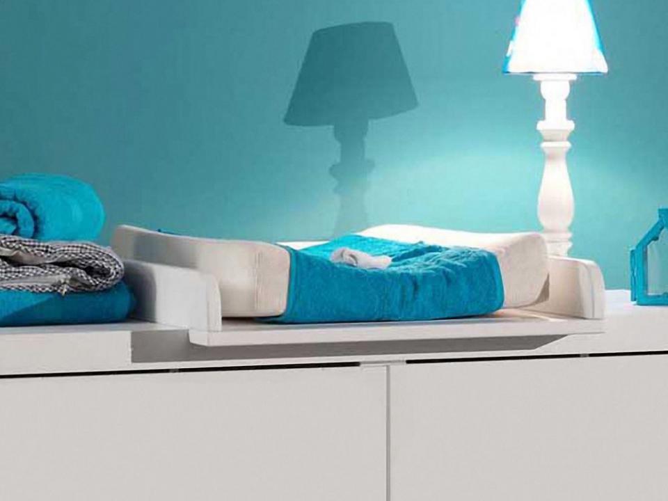 roba planche langer blanc adam et chouette gris. Black Bedroom Furniture Sets. Home Design Ideas