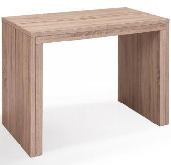 Oxalys Foncé Xl Table Extensible Cérusé Chêne Console N8yvm0Onw