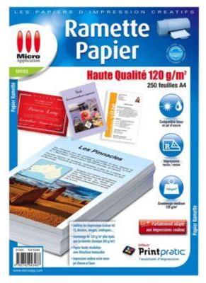 Papier Ramette Micro Application