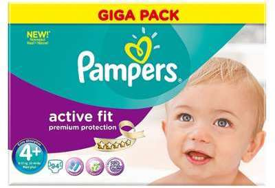 Cat gorie couches b b s du guide et comparateur d 39 achat - Couches pampers active fit taille 4 giga pack ...
