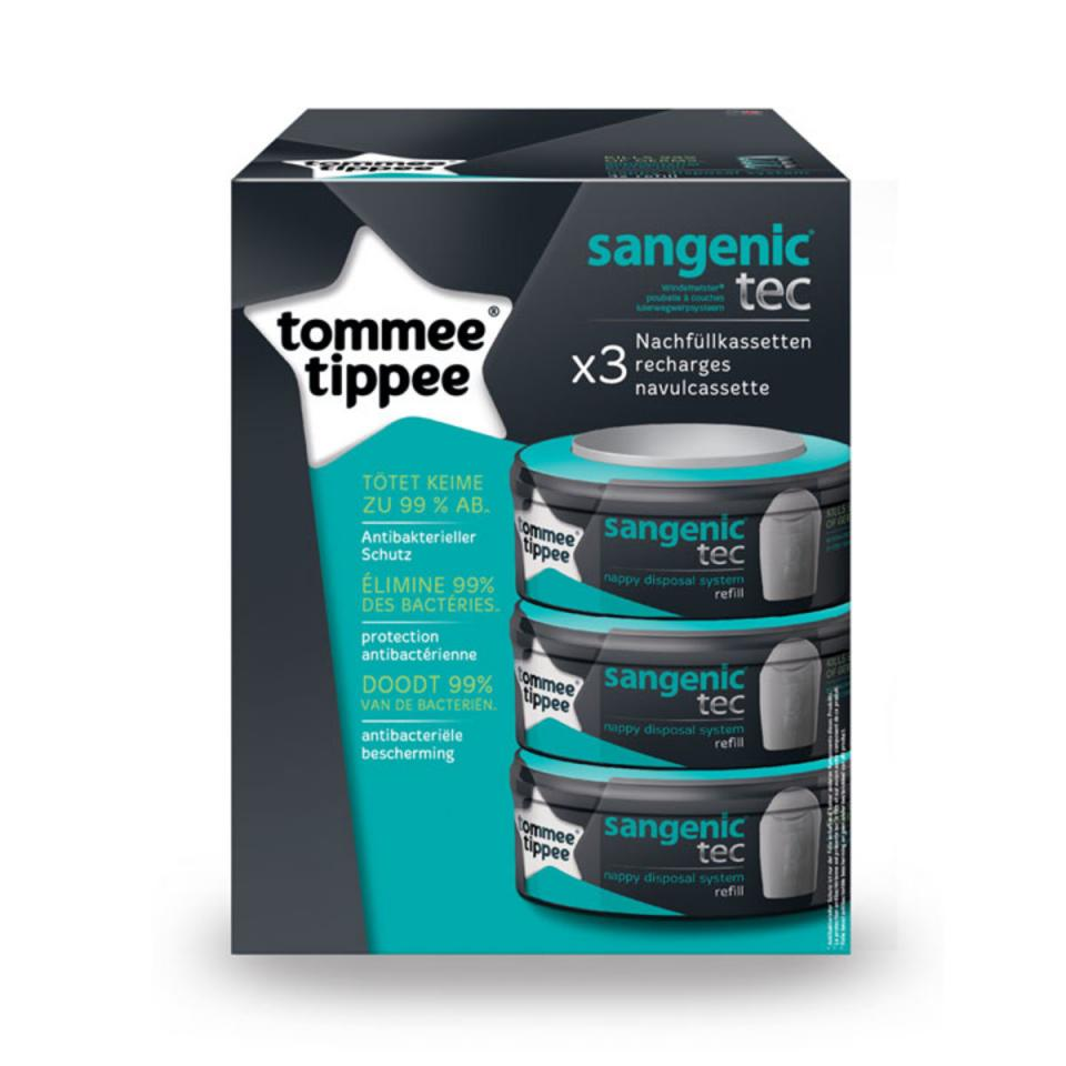 Korbell recharge poubelle couche 26 l - Recharges pour poubelle a couches sangenic ...