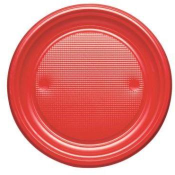 200 assiettes en plastique rigide blanc liser or 15 cm for Prix poisson rouge 20 cm