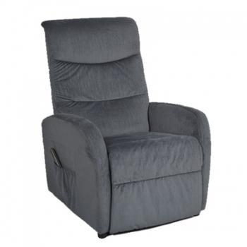 fauteuil lectrique bi moteur pivotant cuir c sar. Black Bedroom Furniture Sets. Home Design Ideas