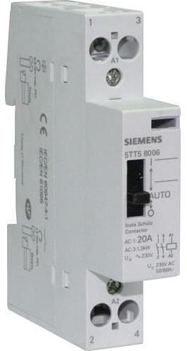 Siemens disjoncteur bipolaire 20a pour parafoudre - Fonctionnement contacteur jour nuit ...