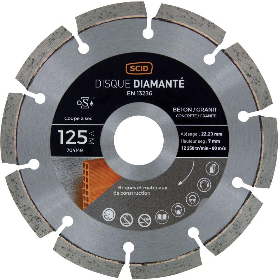 Catgorie disque diamant page 3 du guide et comparateur d 39 achat - Disque diamant 125 ...