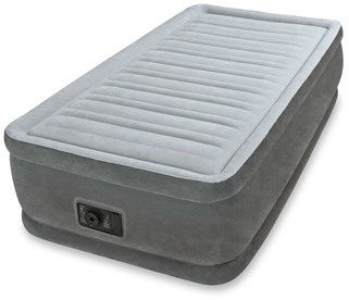 Lit gonflable 2 places comfort plush dura beam intex - Matelas gonflable rond ...
