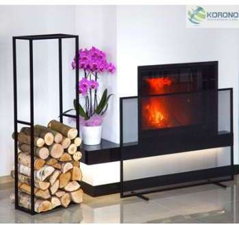 serax porte b ches design en m tal noir compartiments. Black Bedroom Furniture Sets. Home Design Ideas