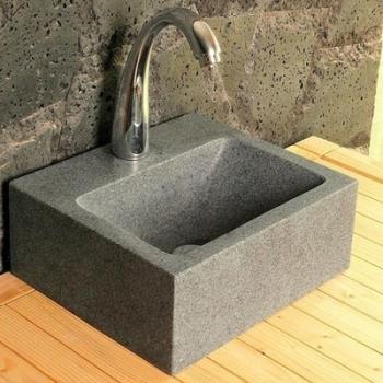 ocean cvasque poser 40 cm en pierre de rivi re gal o. Black Bedroom Furniture Sets. Home Design Ideas