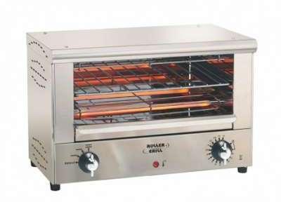 Roller four snacker quartz infrarouge grill for Grill cuisine professionnelle
