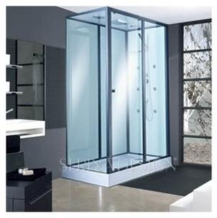 Catgorie sanitaire page 1 du guide et comparateur d 39 achat - Cabine de douche rectangulaire 110 x 80 ...