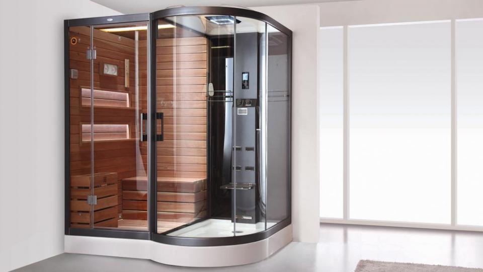 Catgorie douche du guide et comparateur d 39 achat for Hammam et sauna