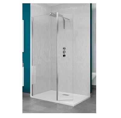 kinedo smart paroi fixe verre transparent 80 cm. Black Bedroom Furniture Sets. Home Design Ideas