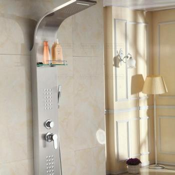 Catgorie douche du guide et comparateur d 39 achat - Colonne de douche avec radio ...