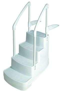 Escalier Piscine Droit Avec Rampe Mareva Piscine
