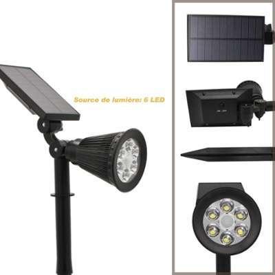 Catgorie eclairage extrieur page 6 du guide et comparateur d 39 achat - Spot solaire jardin ...