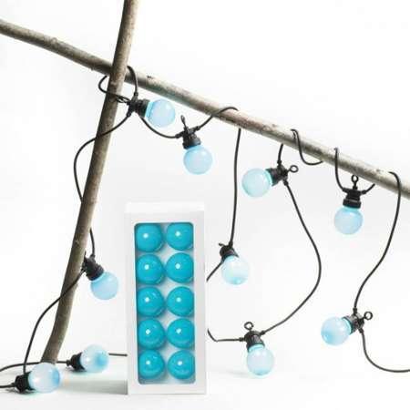 best guirlande led ext rieur 16 ampoules multicolore party light. Black Bedroom Furniture Sets. Home Design Ideas