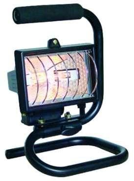 vision projecteur led portable 10w ip65 avec batterie. Black Bedroom Furniture Sets. Home Design Ideas