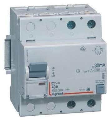 Recherche Disjoncteur Differentiel 40a 30ma