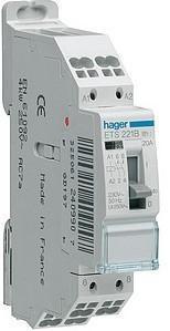 Hager tlrupteur 16a 1f monophas epn510 hager - Fonctionnement contacteur jour nuit ...