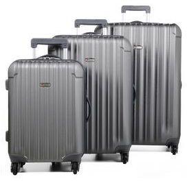 Ensemble 3 valises rigides Airtex Sagittaire Gris foncé RMhAphnTUN