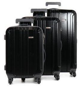 Ensemble 3 valises rigides Pluton Noir 0b00xU1CF