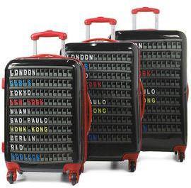 Ensemble 3 valises rigides Horizon Arrival Bleu noir ALcOzS4YZY