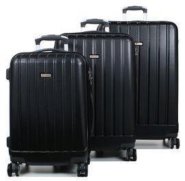 Ensemble 3 valises rigides Airtex Mercure 2 Noir saLV3a0