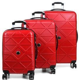 Ensemble 3 valises rigides Compagnie du Bagage Birmingham Rouge ZAkfZdxYf