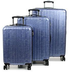 Ensemble 3 valises rigides Snowball Athènes Bleu VeaWcxn