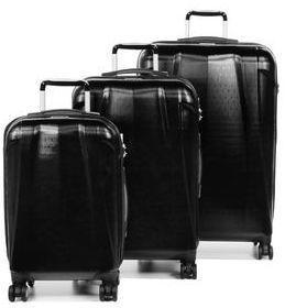 Ensemble 3 valises rigides Airtex Callisto Gris FGlBlk