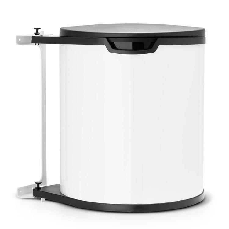 simplehuman poubelle encastrable 10 l. Black Bedroom Furniture Sets. Home Design Ideas