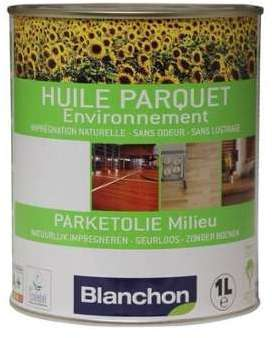 blanchon c huile parquet 1l naturel. Black Bedroom Furniture Sets. Home Design Ideas
