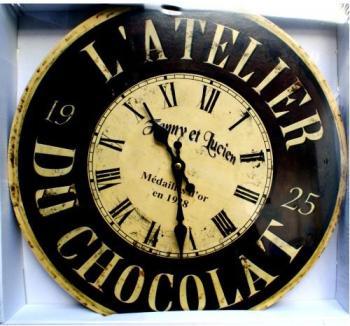Pendule led rouge for Horloge atelier