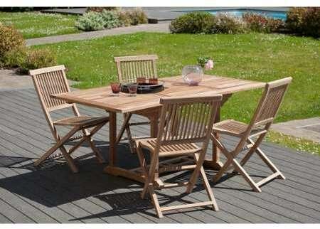 table de jardin 180